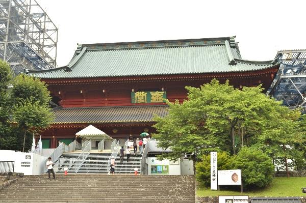 輪王寺・三仏堂