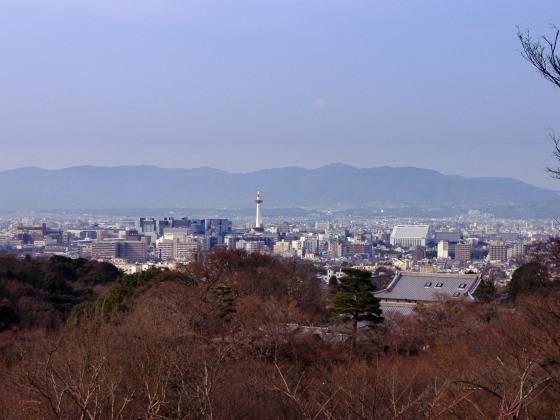 清水寺より京都市街